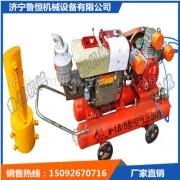 防汛抢险打桩机 气动防汛植桩机 便携式木桩打桩机价格