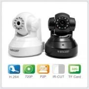 HW0024室内高清看家WIFI插卡网络摄像机