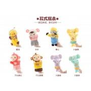 多款动物系列卡通早教毛绒玩具手偶 批发定制 儿童玩偶厂家直销